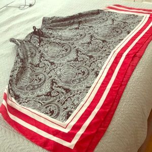 Ralph Lauren Paisley skirt
